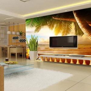 3d-sunset-beach-wallpaper